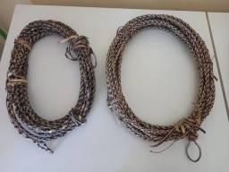 Cordas de coro,com argola de aço níquel pra laça