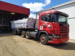 Conjunto Scania124 + Caçamba Noma