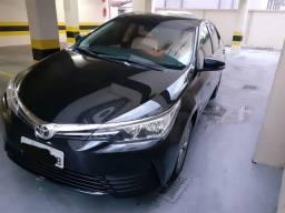 Toyota Corolla 2018 gli upper 1.8 flex 16V AUT - como novo