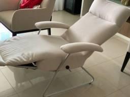 Poltrona reclinável Lafer