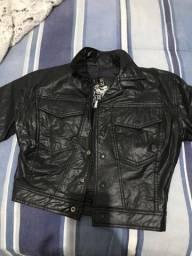 Jaqueta de couro P ao M