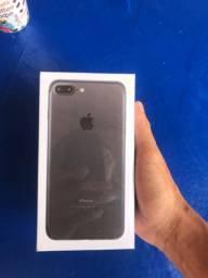 iPhone 7 Plus preto lacrado