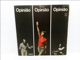 Lp Vinil Show Opinião Nara Leão, Zé Keti, João Do Vale
