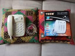 Telefone Fixo Teem Modelo 8217