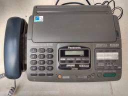 Fax Panasonic com telefone e secretária eletrônica
