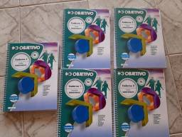Coletânea livros objetivo (Enem/vestibulares/concursos)