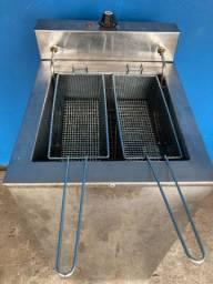 Fritadeira Elétrica Agua e Óleo Venancio 5000 wts 220v 18 lts 2 cestos