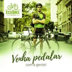 Entregador com bicicleta