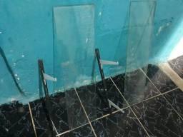 Platileira de vidro