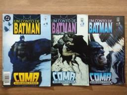 HQ Um Conto De Batman - Coma (Mini-série completa em 03 edições)