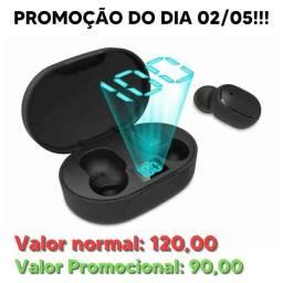 PROMOÇÃO ATÉ HOJE DOMINGO!! Fone Ouvido Digital True Esporte Bluetooth 5.0 E6s Tws