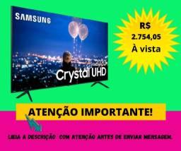 Smart TV Crystal UHD 4K LED 50 Samsung - 50TU8000 Wi-Fi Bluetooth HDR 3 HDMI 2 USB