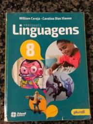 Livro - Português Linguagens 8 Ano - Semi novo