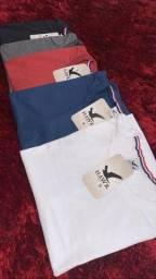 Camisetas masculinas Lisa tamanho M