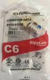 Conector Keystone Cat6 Furukawa Gigalan  Bege 35030602