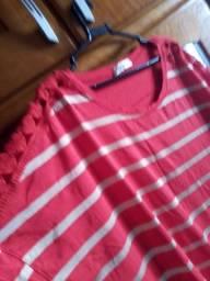 Blusa Vermelha Tamanho 50