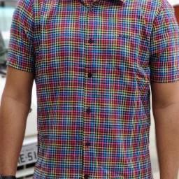 Camisa xadrez!