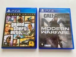 Jogos PS4, novos!