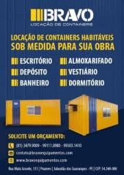 Bravo Equipamentos-Container habitavel