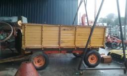 Carreta 6 toneladas caixa alta
