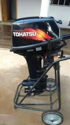 Motor de popa TOHATSU 18hp 2014 revisado