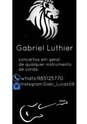 Luthier(concerta-se instrumentos musicais)
