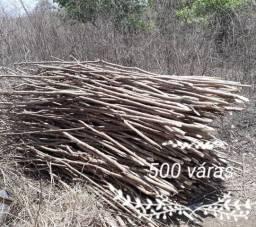 Vendo váras para plantação de inhame