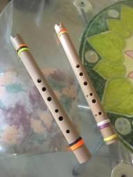 Flauta Artesanal Em PVC Quena