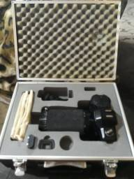 Máquina fotográfica antiga Yashica
