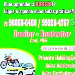 HABILITAÇÃO CAT (AB) 1000.00 AVISTA A parte da auto escola - 2018