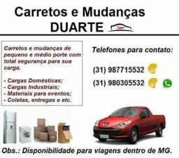 Carretos e Montagem de Moveis Duarte! Melhor Preço! 24hrs!