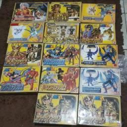 Bonecos Cavaleiros dos Zodíaco BANDAI 87 e 88
