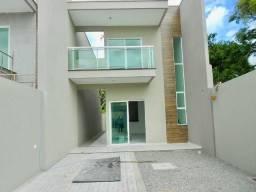Casas duplex em Messejana, 4 suítes, fino acabamento