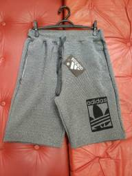 Bermudas Moletom Adidas