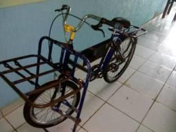 Vendo bicicleta cargueira. 420.00
