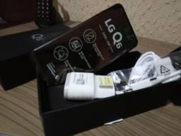 Celular lg Q6 32 gigas na caixa sem uso