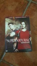 Box DVD Supernatural - 6ª Temporada (6 Discos)
