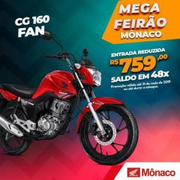 CG FAN 160 START -Moto Honda CG FAN 160 START, Ano e Modelo 2019 - 2019