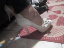 Sapato em couro Tanara