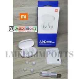 Fones Xiaomi AirDots Original Bluetooth True Wireless Lacrado