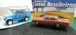 Miniaturas Dodge Dart + Toyota Bandeirantes Escala 1/43