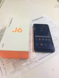 Samsung j6 black 32 gb