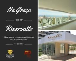Riservatto Graça - 4 suítes, 4 vagas, completa infraestrutura na Graça / Barra