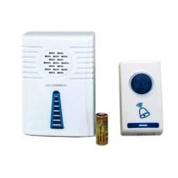 Campainha Sem Fio Ex2810 Ecooda 32 Toques Led Wireless Bivolt 100 Metros
