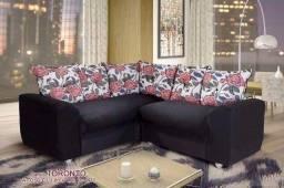 Sofa canto belo - menor preço garanta o seu pronta entrega Aproveite já
