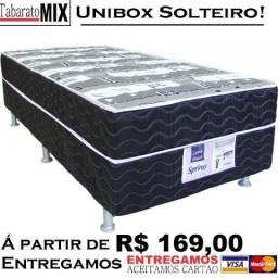 :::Cama Unibox, Á partir de 169$, com espuma acoplada. Parcelamos nos Cartões sem juros.,