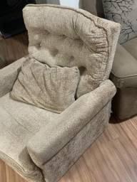 Cadeira de balanço reclinável
