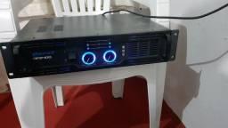 Amplificador De Potencia Oneal Op-2400 800w