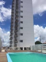 Apartamento 02 quartos sendo 01 suite lazer clube Lagoa Nova Natal RN