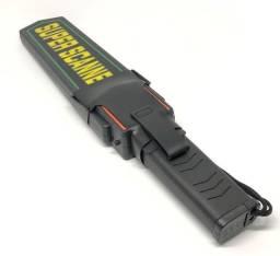 Detector De Metais Portatil Alta Sensibilidade Metal Scanner Novo na Caixa